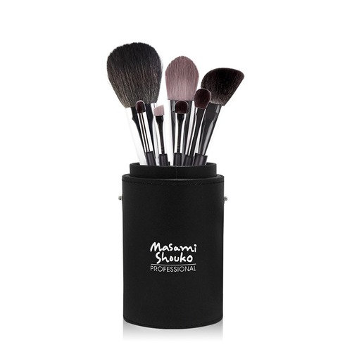 Closeup   double fibre brush set with large holder  1