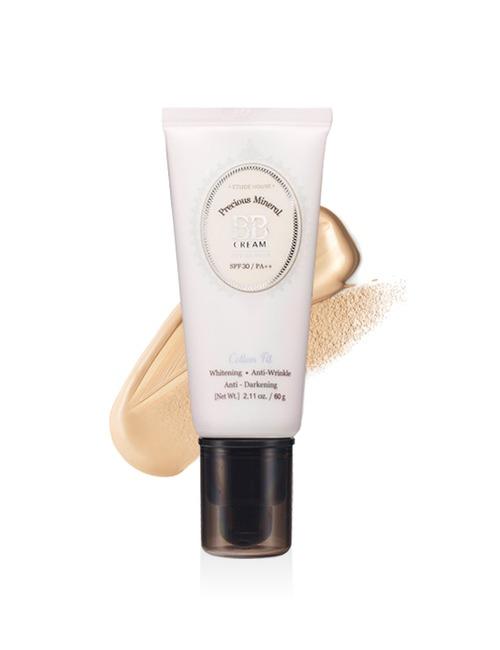 Etude House Precious Mineral Bb Cream Cotton Fit   Light Beige N02
