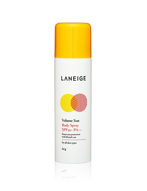 Closeup   laneige volume sun body spray 60g