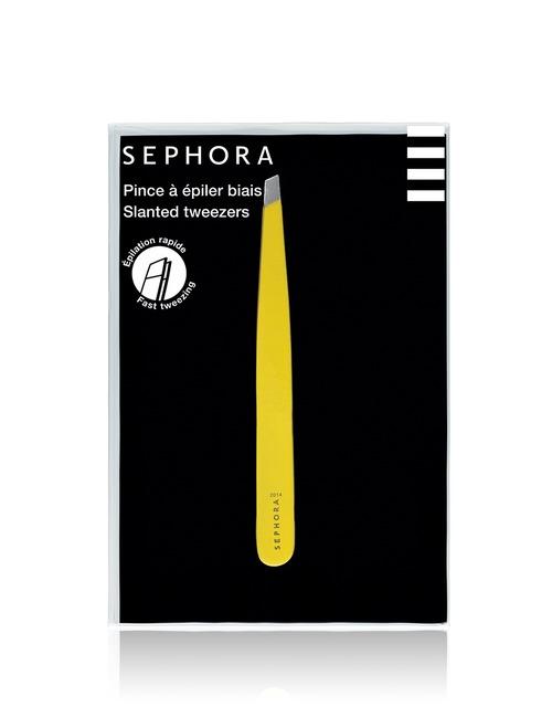 Sephora Collection Slanted Tweezers Yellow