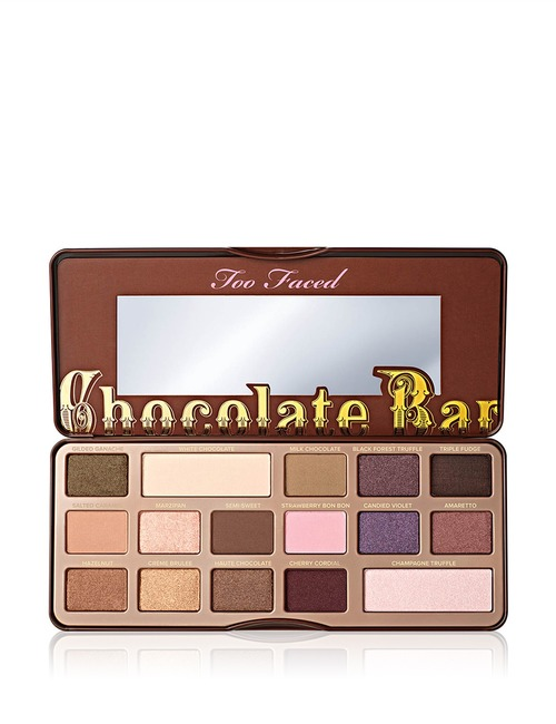 Closeup   chocolate bar eye shadow collection 1
