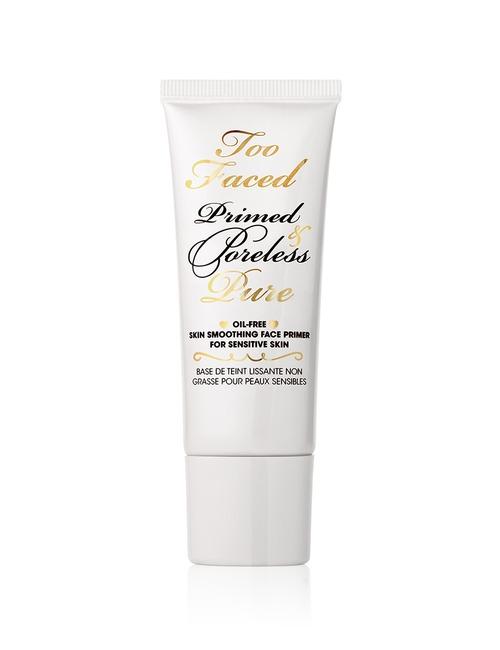 Closeup   primed   poreless pure primer oil free skin smoothing face primer for sensitive skin