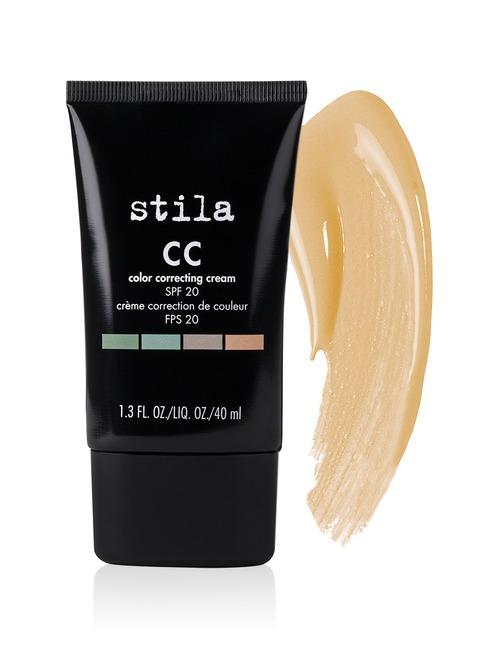 Closeup   cc color correcting foundation cream spf20 light