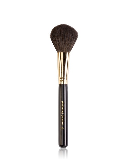 Closeup   9538 12 powderblush brush gold