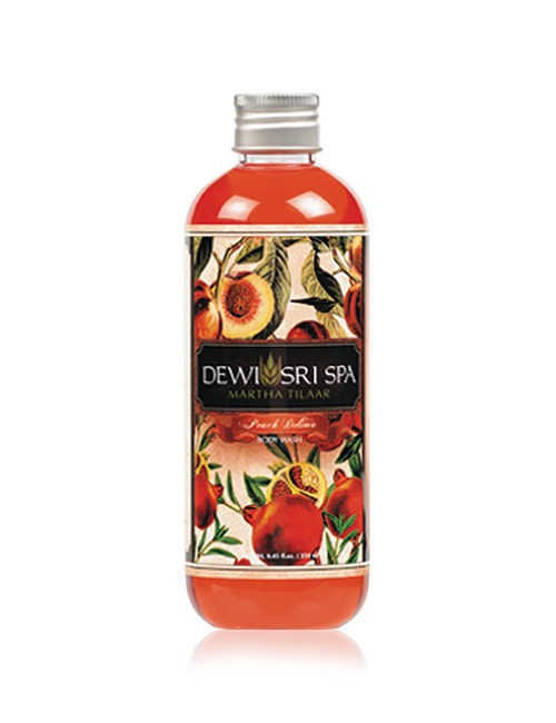 Dewi Sri Spa Body Wash Peach Delima