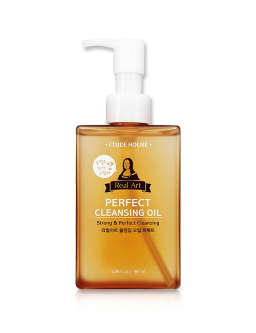 Closeup   real art cleansing oil perfect