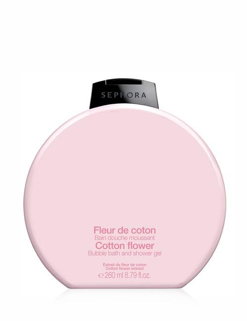 Sephora Collection Bubble Bath Shower Gel Cotton Flower