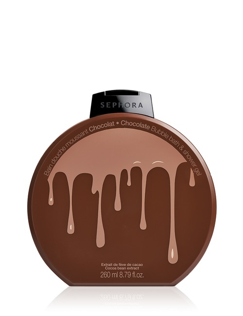 Sephora Collection Bubble Bath Shower Gel Graphic Chocolate