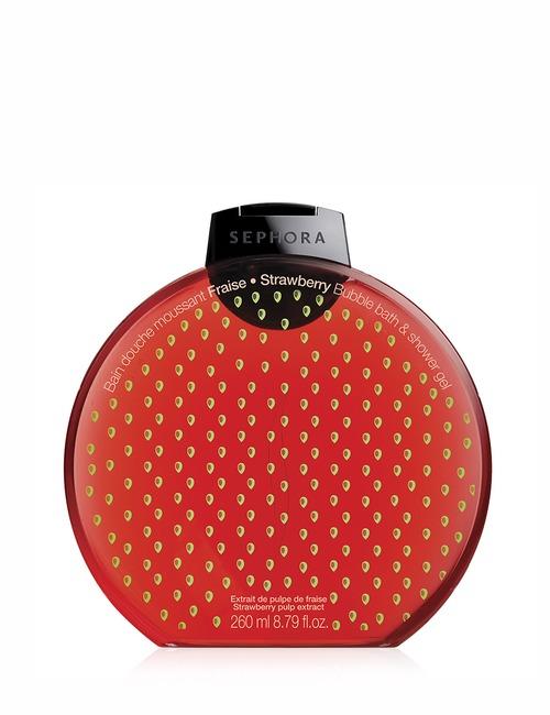Sephora Collection Bubble Bath Shower Gel Graphic Fraise