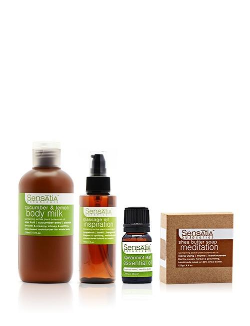 Sensatia Botanicals Massage & Bath Essentials